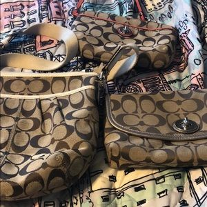 COACH 3 Purse Set